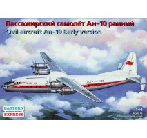 Eastern Express EE14484 - 1:144 Antonov An-10 Russian medium-haul passenger aircraft, early version, Aeroflot USSR