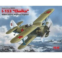 "ICM 48095 - 1:48 I-153 ""Chaika"", WWII Soviet Biplane Fighter (100% new molds)"