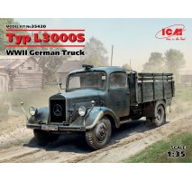 ICM 35420 - 1:35 Typ L3000S, WWII German Truck (100% new molds)