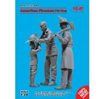 ICM 24005 - 1:24 American Firemen, 1910s (100% new molds) - 3 figures