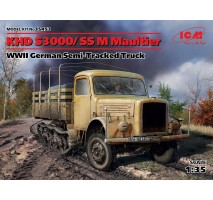 ICM 35453 - 1:35 KHD S3000/SS M Maultier, WWII German Semi-Tracked Truck