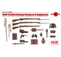 ICM 35699 - 1:35 WWI Turkish Infantry Weapons & Equipment (100% new molds)