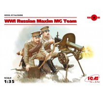 ICM 35698 - 1:35 WWI Russian Maxim MG Team (2 figures) (100% new molds)