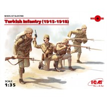 ICM 35700 - 1:35 Turkish Infantry (1915-1918) (4 figures) (100% new molds)