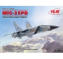 ICM 48903 - 1:48 MiG-25 PD, Soviet Interceptor Fighter