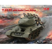 ICM 35369 - 1:35 T-34-85 with Soviet Tank Riders
