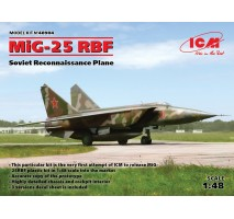 ICM 48904 - 1:48 MiG-25 RBF, Soviet Reconnaissance Plane