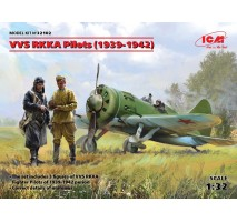 ICM 32102 - 1:32 VVS RKKA Pilots (1939-1942) (3 figures) (100% new molds)