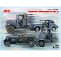ICM 35642 - 1:35 German Drivers (1939-1945) (4 figures) (100% new molds)