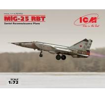 ICM 72172 - 1:72 MiG-25 RBT, Soviet Reconnaissance Plane (100% new molds)