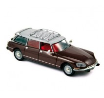 NOREV - Citroen ID19 Break 1968 Dark red
