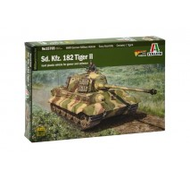 Italeri 15765 - 1:56 Sd. Kfz.182 TIGER II - 1 figure