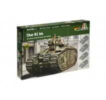 Italeri 15766 - 1:56 CHAR B1 with 3 figures