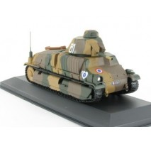 Atlas - 1:43 Somua S-35 1ere DLM Quesnoy (WWII Collection by EAGLEMOSS)