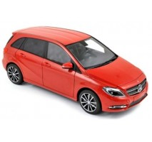 NOREV - MERCEDES-BENZ B180 2011 HQ - Red