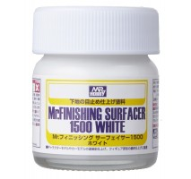Mr. Hobby - SF-291 Mr. Finishing Surfacer 1500 White - 40ml