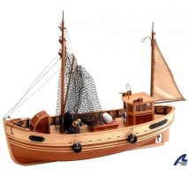 Artesania Latina 20145 - 1:35 Bremen Krabben Kutter - Wooden Model Ship Kit