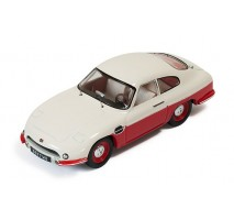 IXO - 1:43 Panhard DB HBR5 1957- Beige and Red (closed lights)
