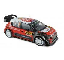 NOREV - Citroen C3 WRC N°7 - Winner Espagne 2017 - K.Meeke / P.Nagle