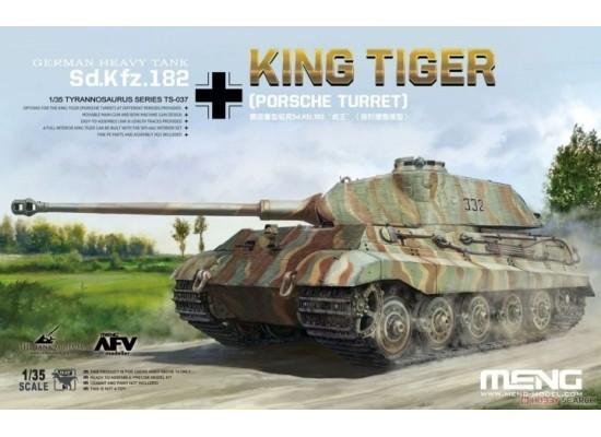 MENG TS-037 - 1:35 SdKfz 182 King Tiger (Porsche Turret)