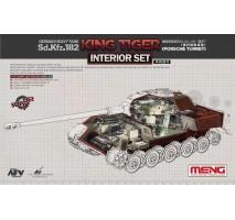 """MENG SPS-062 - 1:35 Sonderkraftfahrzeug 182 """"King Tiger"""" (Porsche Turret) Interior Set"""