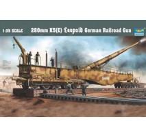 Trumpeter 00207 - 1:35 280mm K5 E Leopold German Rail Road Gun