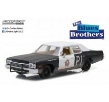 "GreenLight 84011 - Blues Brothers (1980) - 1974 Dodge Monaco ""Bluesmobile"" - Hollywood Series 1"