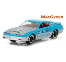 GreenLight 44770-D - MacGyver (1985-1992 TV Series) - 1987 Pontiac Firebird Solid Pack - Hollywood Series 17