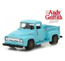 GreenLight 44770-E - The Andy Griffith Show (1960-68 TV Series) - Goober's 1956 Ford F-100 Solid Pack - Hollywood Series 17