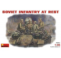 Miniart 35001 - Soviet Infantry at Rest (1943-45) - 4 figures 1:35