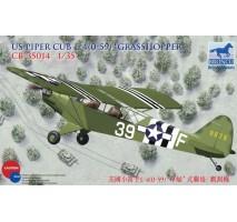 Bronco Models CB35014 - 1:35 Piper Cub L4'Grasshopper'