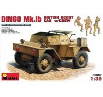 Miniart 35067 - 1:35 British Scout Car Dingo MK. 1b - 3 figures