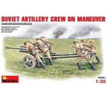 Miniart 35081 - 1:35 Soviet Artillery Crew on Maneuver - 5 figures