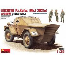 Miniart 35082 - 1:35 Leichter Pz. Kpfw. Mk 1202 (e). w/crew - 3 figures