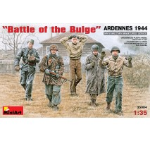 "Miniart 35084 - 1:35 ""Battle of the Bulge"" ARDENNES 1944 - 5 figures"
