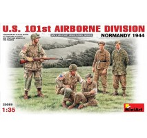 Miniart 35089 - 1:35 U.S. 101st Airborne Division (Normandy 1944) - 5 figures
