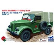 Bronco Models CB35096 - 1:35 GAZ 69(M) 4X4 Utility Truck