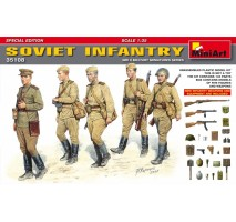 Miniart 35108 - 1:35 Soviet Infantry. Special Edition - 5 figures
