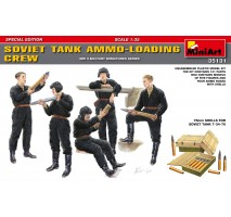 Miniart 35131 - 1:35 Soviet Tank Ammo-Loading Crew Set. Special Edition - 5 figures