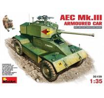 Miniart 35159 - 1:35 AEC Mk 3 Armoured Car - 1 figure