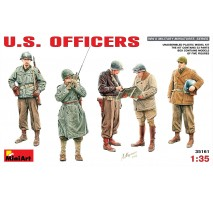 Miniart 35161 - U.S.Officers - 5 figures 1:35