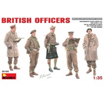 Miniart 35165 - British Officers - 5 figures 1:35