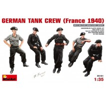 Miniart 35191 - 1:35 German Tank Crew (France 1940) - 5 figures