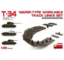 Miniart 35207 - T-34 Wafer-Type Workable Track Links Set 1:35