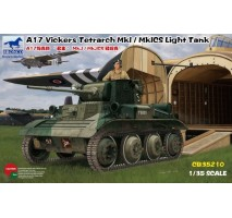 Bronco Models CB35210 - 1:35 A17 Vickers Tetrarch MkI / MkICS Light Tank