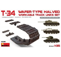 Miniart 35216 - T-34 Wafer-Type Halved Workable Track Links Set 1:35