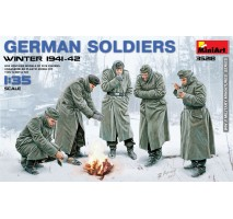 Miniart 35218 - German Soldiers (Winter 1941-42) - 5 figures 1:35