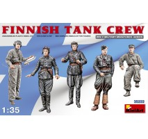 Miniart 35222 - Finnish Tank Crew - 5 figures 1:35