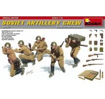 Miniart 35231 - Soviet Artillery Crew - Special Edition - 5 figures 1:35