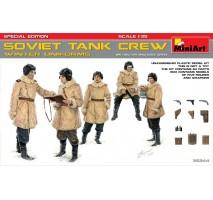 Miniart 35244 - Soviet Tank Crew (Winter Uniforms) - Special Edition - 5 figures 1:35